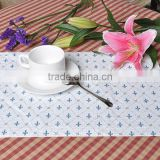 anti slip durable vinyl placemats for restaurants