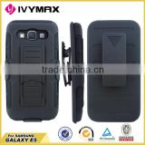 Multi usages mobile phone flip case holster case for Samsung Galaxy E5