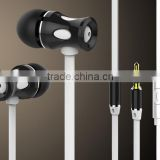 new design metal earphone and headphone with microphone ,earphone and headphone for mobile phone accessories