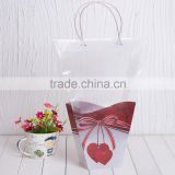 flower pot bags butterfly free sample promotional items flower PP carry plastic bags design