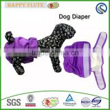 Happyflute dog diaper Washable Dog Diapers mesh nylon dog diaper                                                                         Quality Choice