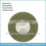 Am19S50 19mm Flexible Miniature Solid Dental Full Coated Diamond Disc abrasive Cut Off Wheels