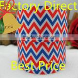 Factory Sale Cheap Custom Decorated Striped Satin Ribbon
