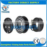 Guang zhou yixiang ac compressor clutch parts magnetic clutch pulley 6pk electromagnetic clutch 12v