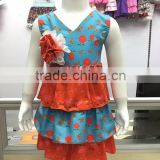 2016 New Arrival Western Baby Girls Outfits Persnickety Remake Love Baby Girls Clothing Sets
