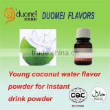 Young coconut water flavor powder for instant drink powder