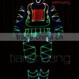 Remote Control Robot LED, Programmable LED Light Robot, Wireless DMX512 LED Robot Costume
