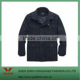 2012 men's winter black windbreaker jacket with multi pocket