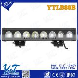 Aftermarket Single row 30V DC Car Accessories Wholesale LED Light Bar led light bar offroad car parts auto part for jeep