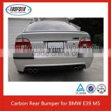 AUTO PARTS REAR BUMPER SPOILER FOR BMW E39 M5 REAR BUMPER DIFFUSER