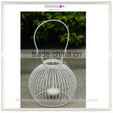Decorative Outdoor Wire Metal Hanging Candle Holder