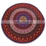 Mandala Round Roundie Yoga Mat Beach Throw Bohemian Roundie Hippie Mandala Round Throw Beach Roundie Tapestry Beach Roundie Art