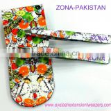 Eyebrow Tweezers Kit / 2-Pcs Eyebrow Tweezers Kit / Fruit Print Tweezers Kit From ZONA- PAKISTA