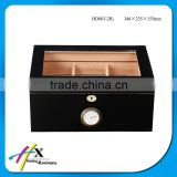 Tall wooden cigar box with tray insert alibaba supplier