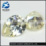 Yellow Topaz Gemstones Wholesale,Bulk Cubic Gems Stones,Pear Cut Artificial Cubic Zirconia Gemstones