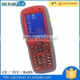 NT-W7 1D Android PDA scanner portable handheld terminal touch screen mobile barcode scanner with GPRS/GSM
