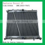 toyota radiator #000444 all aluminum radiator hiace petrol manually radiator for hiace kdh200 16400-75471 1640075471