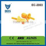Equipment protection and safety ear plugs, Silicone ear plugs CE, Wholesale ear plugs with cord