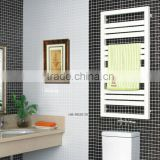 HB-R83 series bathroom hot water heated steel chromed ladder towel racks warmer towe rails radiator