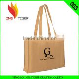 2016 Eco Friendly Customized Logo Branded Promotional Eco Friendly Shopping Non Woven Plastic Bag Recycling