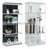 Household lighting acrylic display cabinet with lock