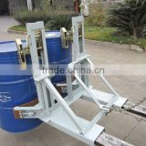 Drum Attachment And Double Drum Clamp For Forklift Use