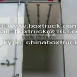 meat transportation truck body, cargo van body, truck body, refrigerated truck for meat transportation