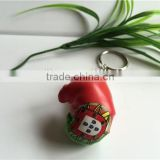 fashion boxing key chain,soft key chain,boxing glove key chain