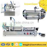 Semi-Automatic Honey Stick Filling Machine,Stainless Steel Piston Double Heads Paste Filling Machine