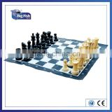 garden Giant Smart Tactics beach Chess game Set Made By PLASTIC