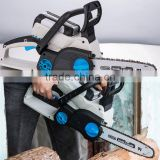 36v 3Ah 650w Brushless Wood Cutting Saw Industrial Log Splitters Machine Portable Battery Powered Chainsaw GW8238