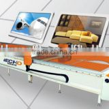 FRP Sheet Making Machine Automatic Digital Cutter machine for PVC PTFE Fabric Membrane Structures