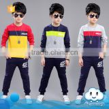 AS-443B new arrival spring/autumn comfortable casual children boys clothing sets kids clothes sports sets for little boys