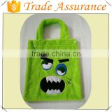 Trick or Treat Bag Halloween Decoration Bag Reusable Candy Carry Tote