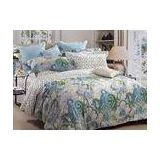 Bright Elegant Beautiful Floral Twin Bedding Sets For Child , Duvet Bed Sets