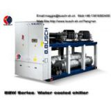 Room cooling dedicated precision temperature control air conditioning BUSCH water cooled screw chiller