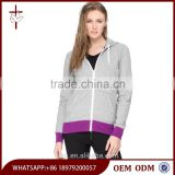 Bulk Wholesale Zip Up Blank Hoodies Women