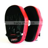 Curved Focus Pads Mitts With Boxing Gloves Hook and Jab Punch Bag Kick MMA A
