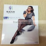 Wholesale Silk feeling Pantyhose Fashion Sheer Full Open Girl Ultra-thin Open bikini Girls Tights
