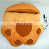 plush paw electric USB heated mouse pad