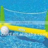 Inflatable volleyball pool game