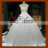 1A088J Guangzhou TiAmero shoulders bridal gowns vintage wedding dress