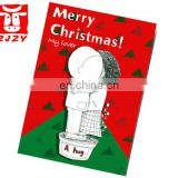 Christmas gift card paper greeting card (ZY19-5183)