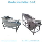 hot sale almond hard shell removing machine/almond kernel and shell sorting machine/professional nut shell crushing machine