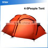 4-5people light hiking customized waterproof double layers tent outdoor camping