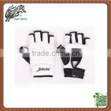 White taekwondo training hand gloves foot gloves