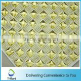 New design Resin Sticker Sheet for thin shoes for shoe decoration ceiling decorative mesh crystal sheet