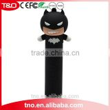 Batman promotion power bank 2600mAh PVC power bank