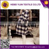 china supplier stock yarn dyed shirting flannel fabric