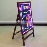 wooden support led writing board in Alibaba
